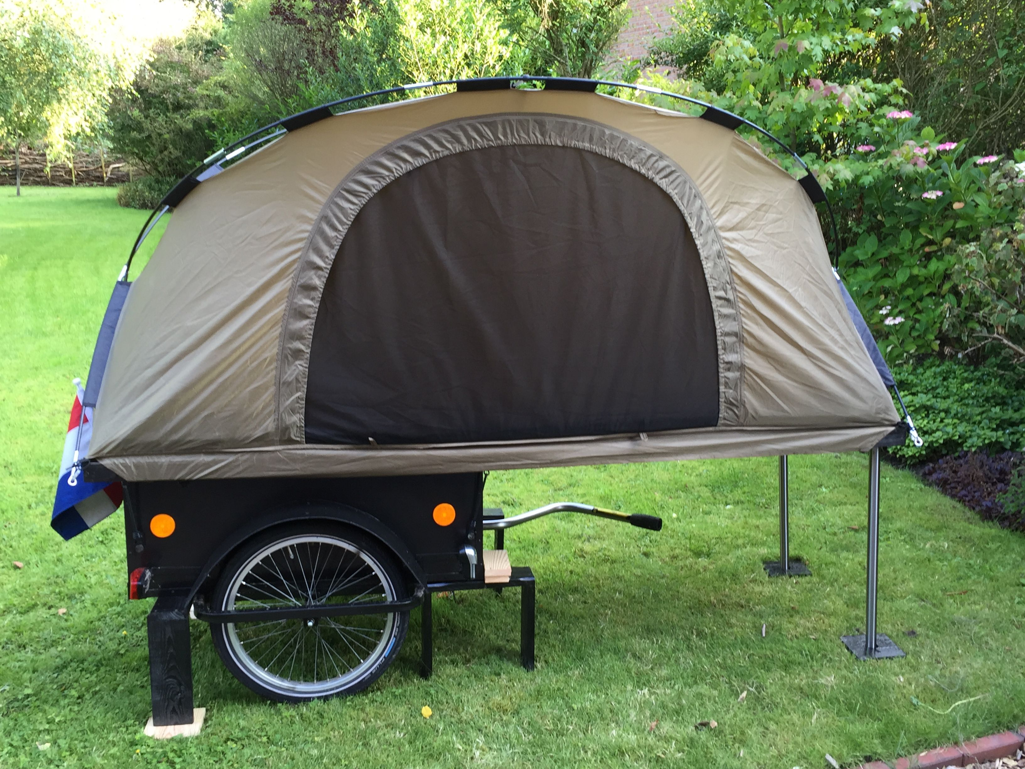Bicycle Camper Trailer Tent - Year of Clean Water