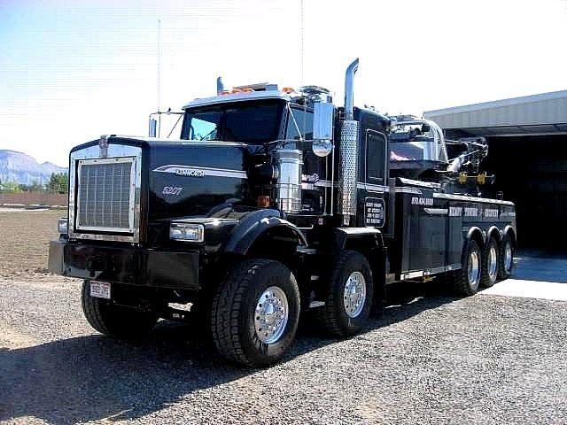 Heavy Duty Wrecker Trucks Tow Truck Kenworth Trucks