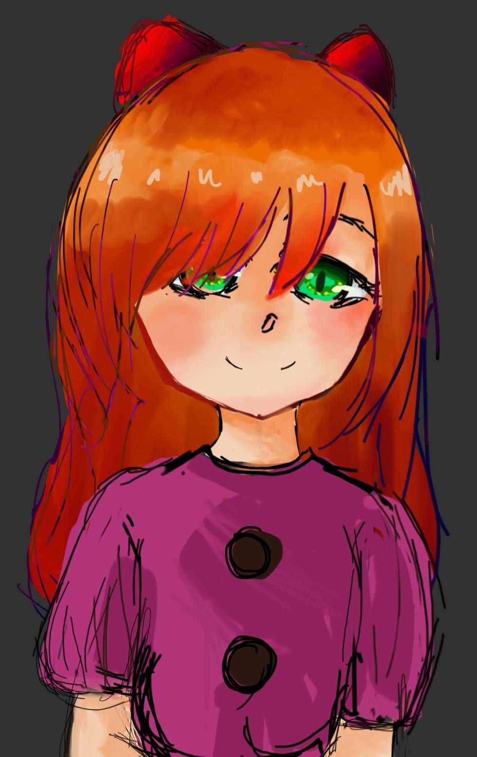 Elizabeth Afton Fanart By Bluehulu On Deviantart In 2020 Fnaf Drawings Afton Fan Art