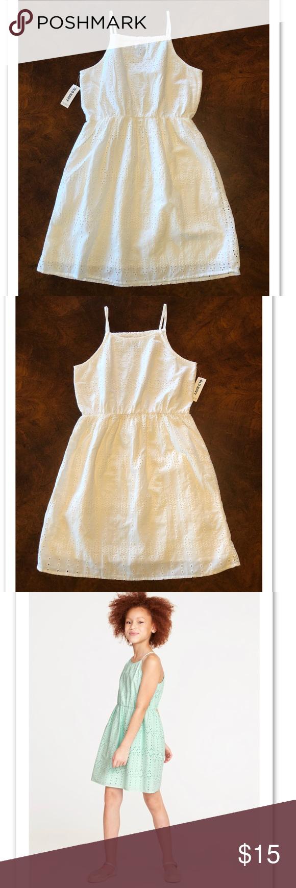 Girls Old Navy White Eyelet Dress White Eyelet Dress Eyelet Dress Dresses [ 1740 x 580 Pixel ]