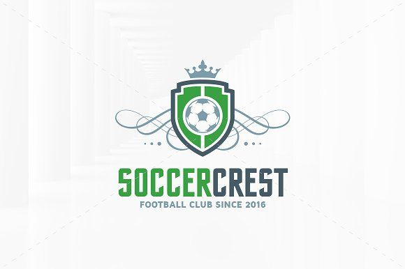 soccer crest logo template by liveatthebbq on creativemarket logo