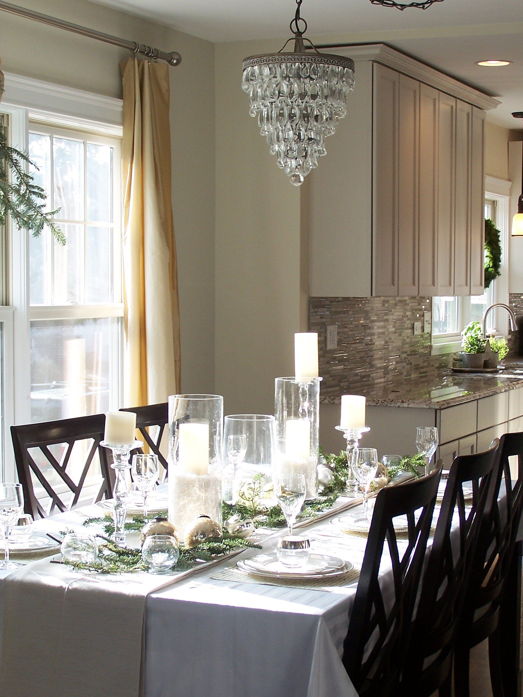 An elegant winter tablescape perfect for the holidays and beyond