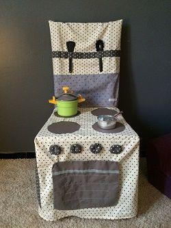 Cuisine en tissu pour chaise couture jouet pinterest - Tissus pour recouvrir chaise de cuisine ...