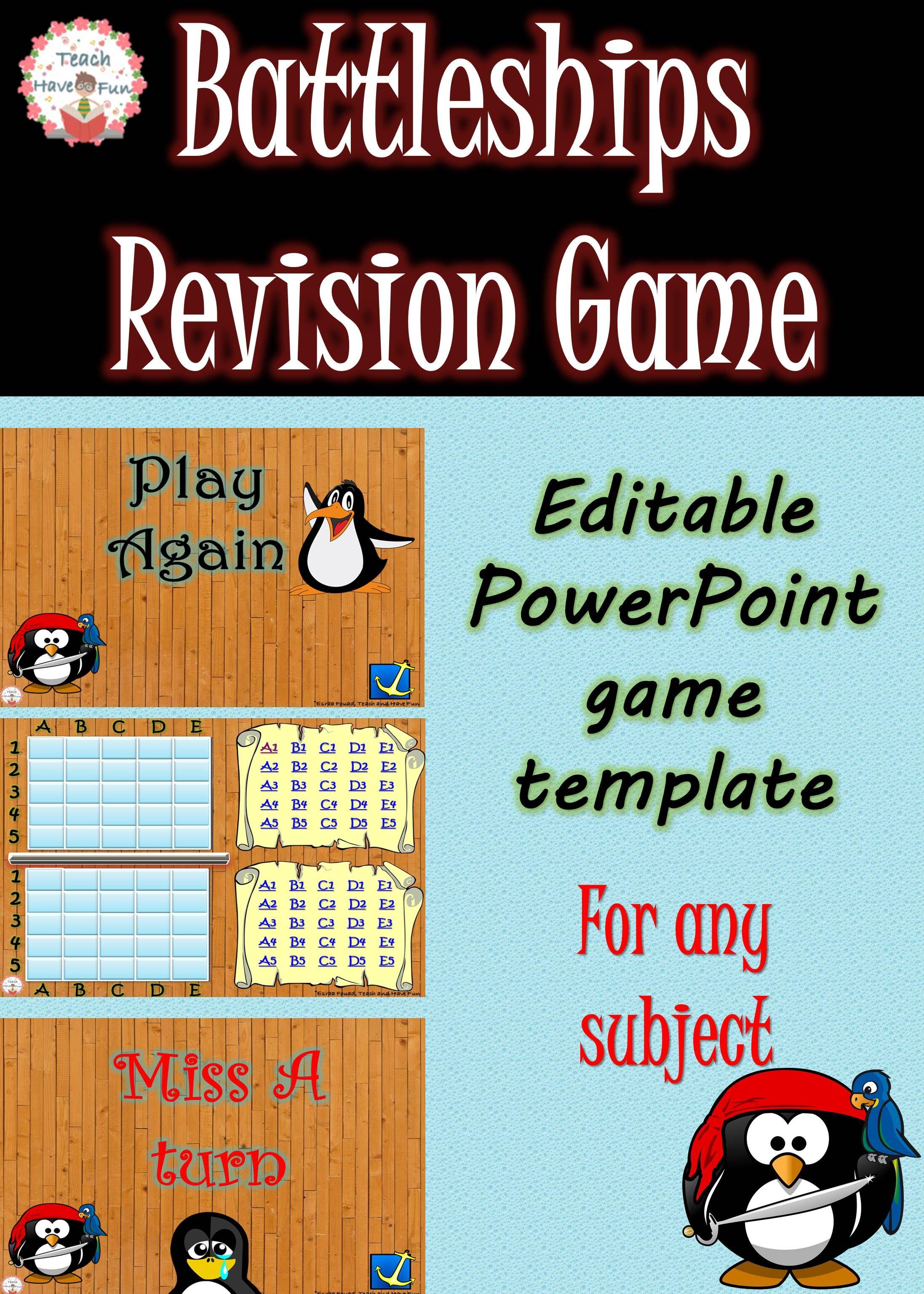 Battleship (PowerPoint game) Powerpoint game templates