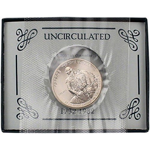 1982-S Proof 50c Silver George Washington Half Dollar Box OGP /& COA