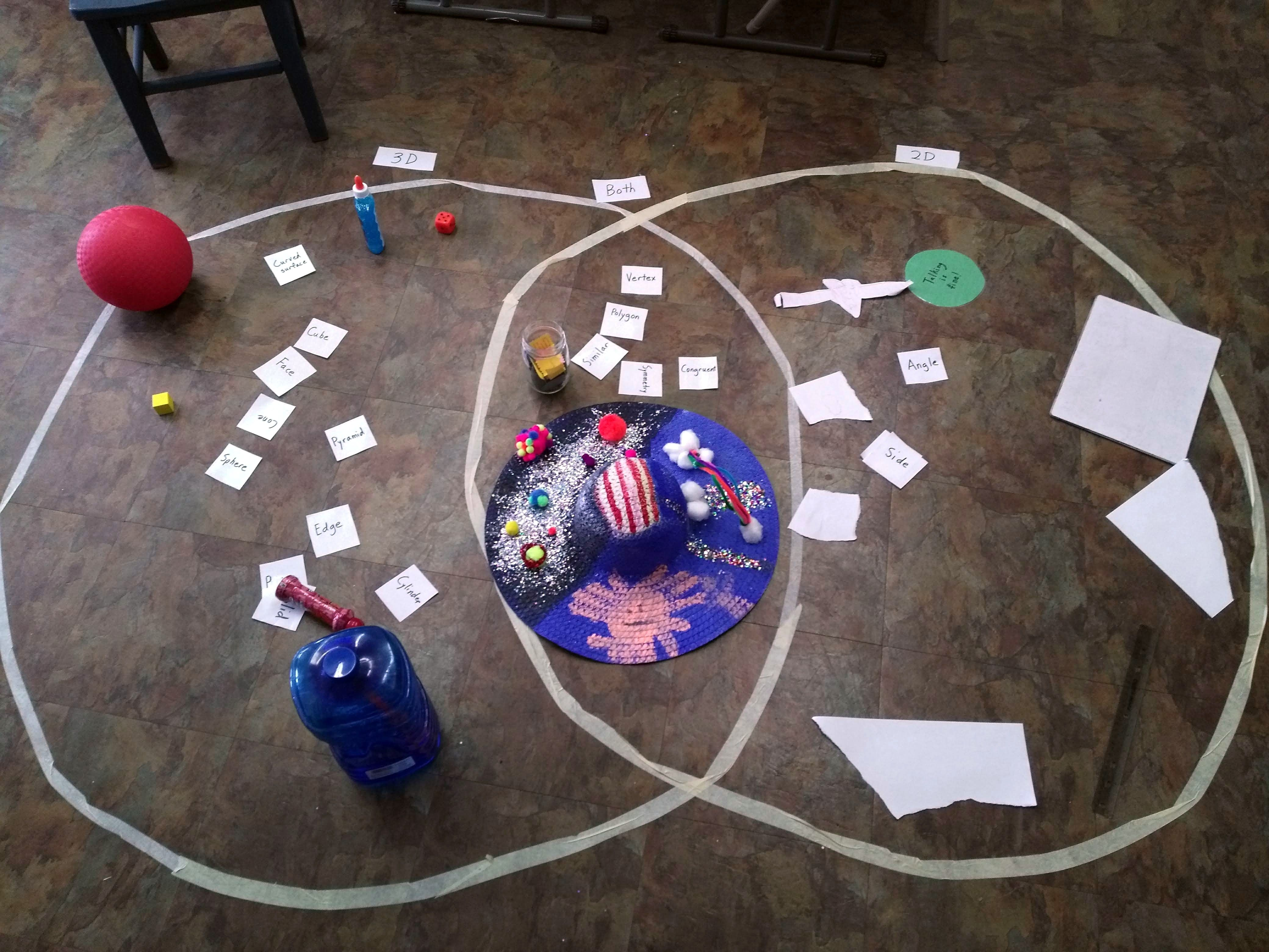 Use A Gigantic Venn Diagram To Practice And Review