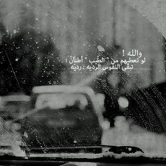 تبـقى النـفوس الرديـ ه رديــ ه Arabic Poetry Arabic Words Words