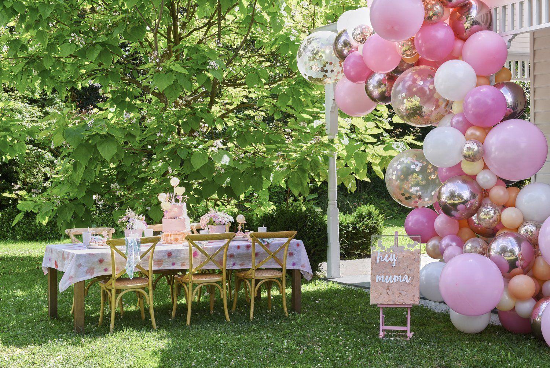 Large Blossom Balloon Garland Balloon garland, Balloons