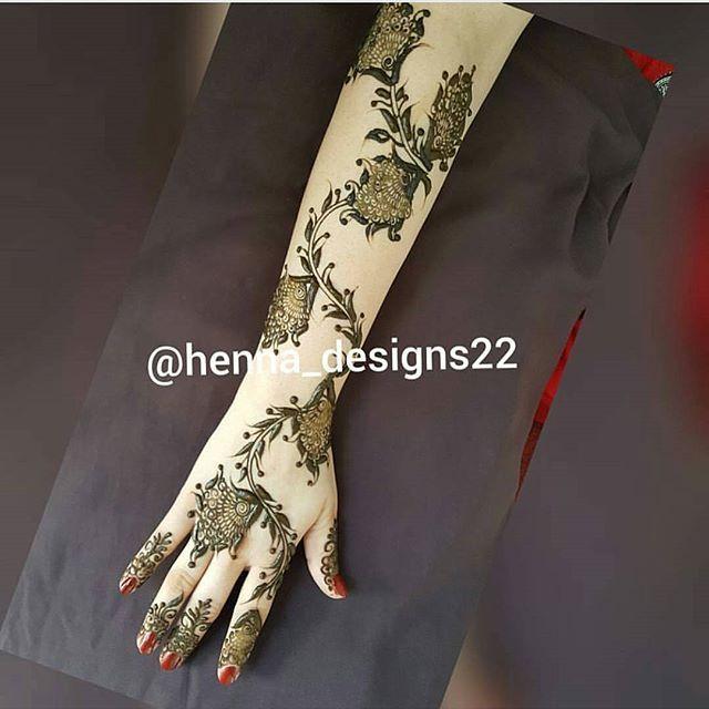 Henna Designs22 اكتبي اسم من اسماء الله الحسنى لعل الله يفرج به همك بنات عندها مسابقات اسبوعية جوايزها كله ذهب Henna Hand Tattoo Henna Patterns Hand Henna