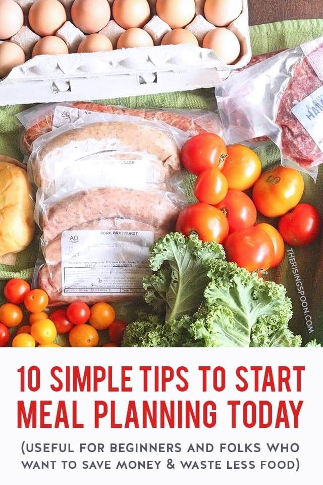 10 Meal Planning Tips For Beginners Using Real Food In 2020 Real Food Recipes Meal Planning Healthy Eating Recipes
