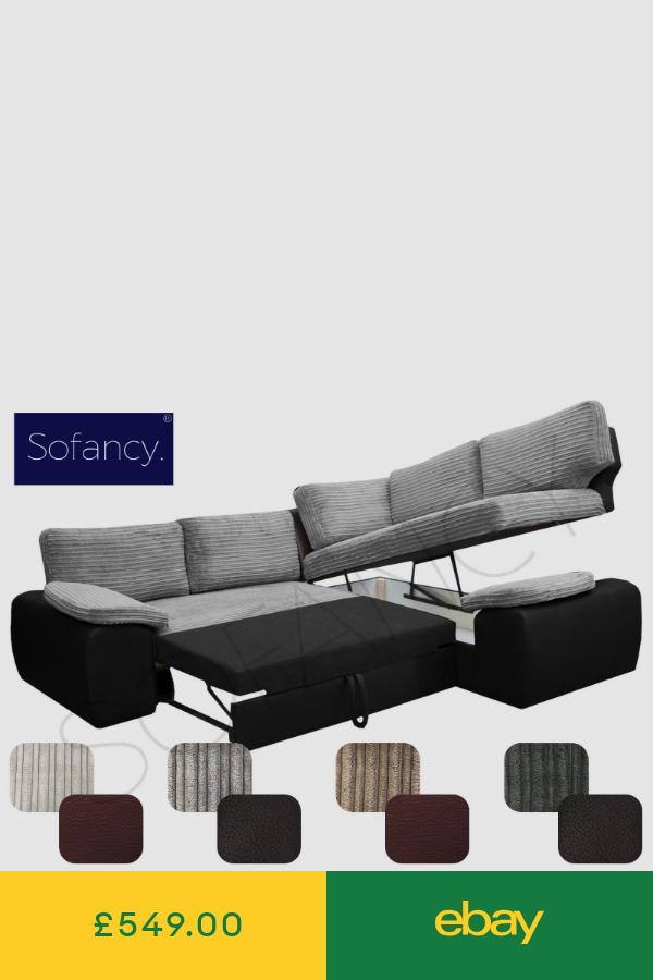 Sofa Beds Home Furniture Diy Ebay Corner Sofa With Storage Corner Sofa Bed With Storage Corner Sofa Bed