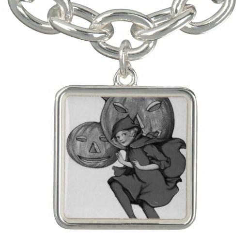 Monochrome Girl Pumpkin Jack O Lantern