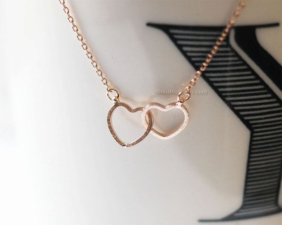 Mother and child entwined heart hands pendant created diamond necklace 18inch