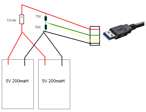Usb Wiring Diagram For Charging - Wiring Diagrams Interval on