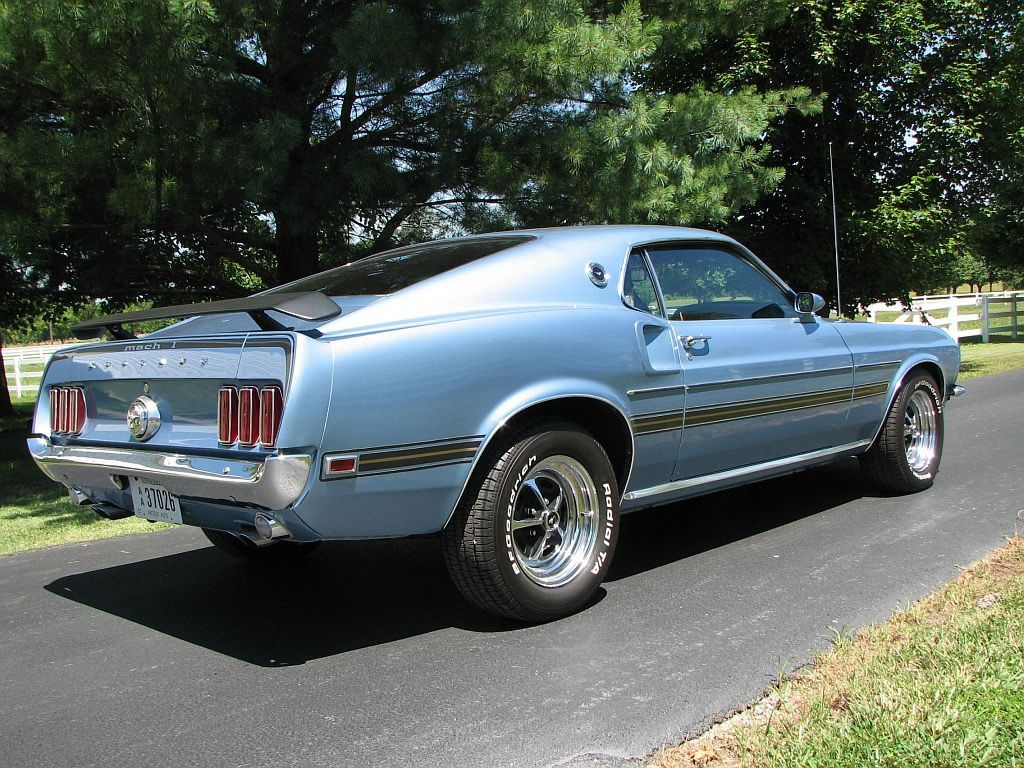 1969 Ford Mustang Mach 1 For Sale Ford Mustang Mustang Classic