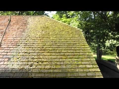 Best Roof Cleaner A Clean You Can See Roof Exterior Softwashing Cedar Roof Cedar Shingle Roof 640 x 480
