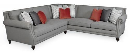 Brunello Brae Jace Living Room Bernhardt Sectional Sofas