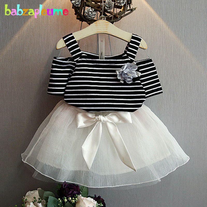 d8cfdb160f8 Encontrar Más Sistemas de la ropa Información acerca de Babzapleume niños  verano ropa de la princesa