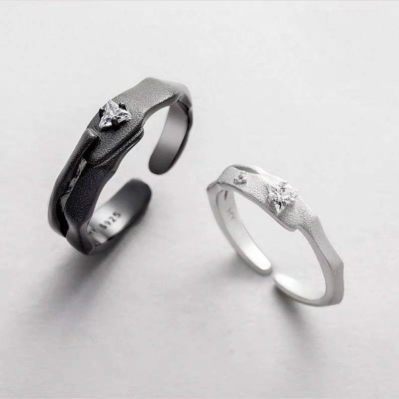 Couple Ringspromise Rings Set His And Her Promise Rings Etsy Promiserings Promise Ring Set Gold Diamond Wedding Band Wedding Rings