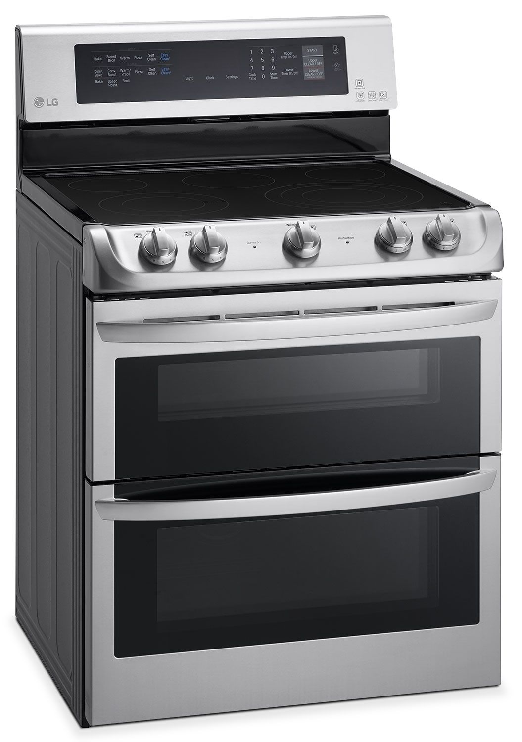 Lg 7 3 Cu Ft Electric Range With Double Oven Stainless