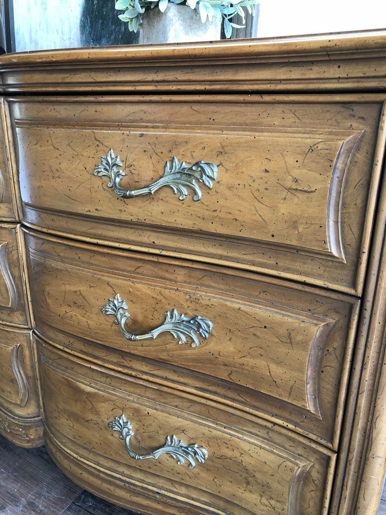 AVAILABLE Henredon French Provincial Dresser Etsy (With
