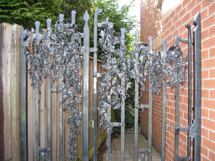 Wrought Iron Garden Gates Herb Garden Design Uk Gate
