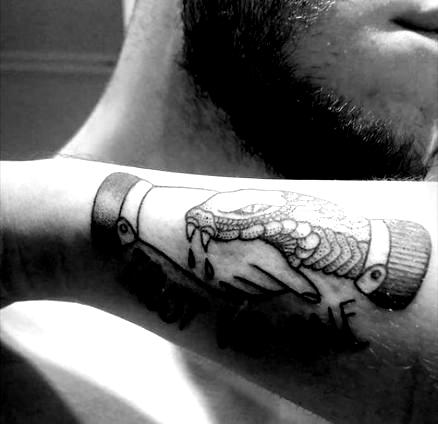 29+ Ideas Tattoo Snake Trust Me #tattoo