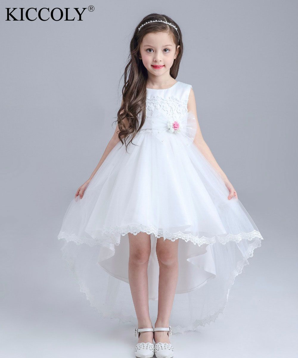 Click to buy ucuc formal lace girl communion party prom princess