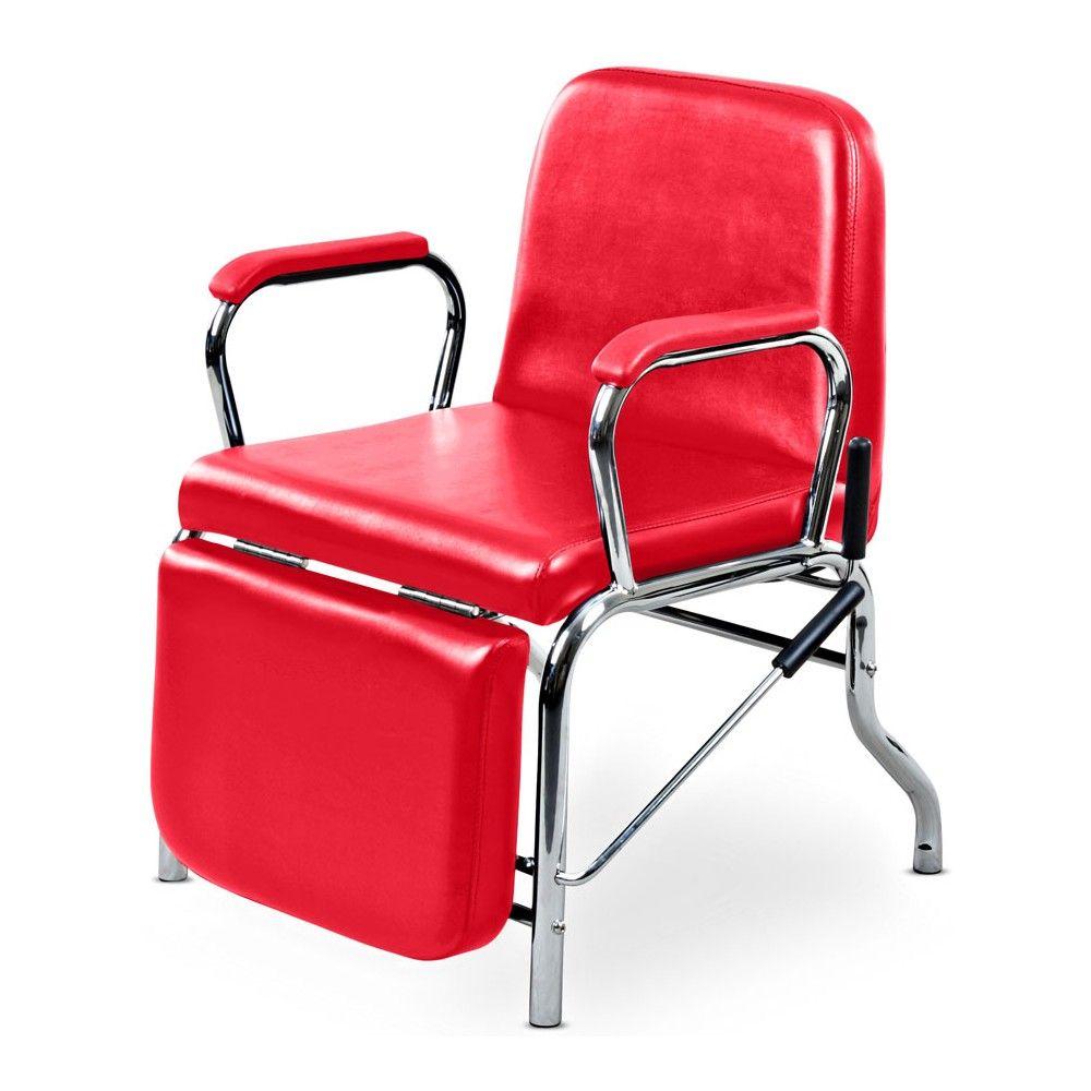 Liger reclining hair salon shampoo chair w footrest