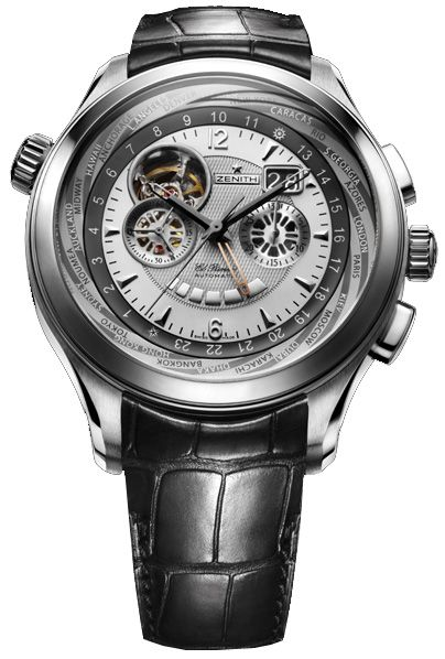 03 0520 4037 01 C492 Zenith Grande Class Open Multicity Watch Mens