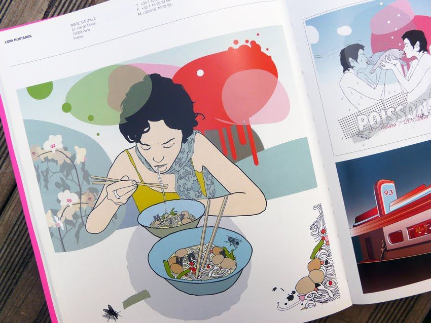 illustrations by Lidia Kostanek