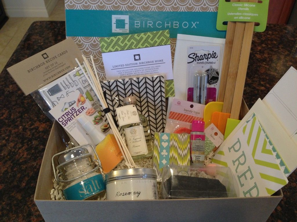 Limited Edition Birchbox Home Box Review Subscription Box Ramblings Birchbox Monthly Subscription Boxes Limited Editions
