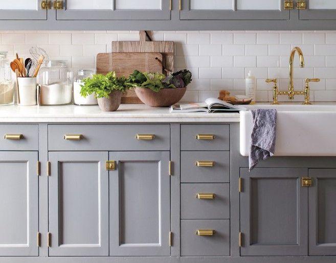 140122144813 martha brass kitchen horizontal large gallery jpg 657 515 blue gray kitchen on kitchen cabinets gold hardware id=86145