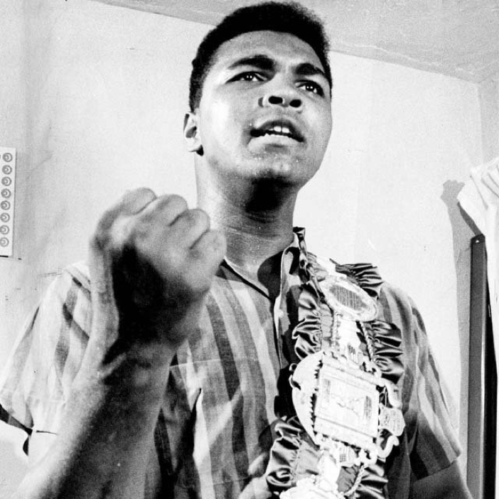 """""""It's not bragging if you can back it up."""" #MuhammadAli"""
