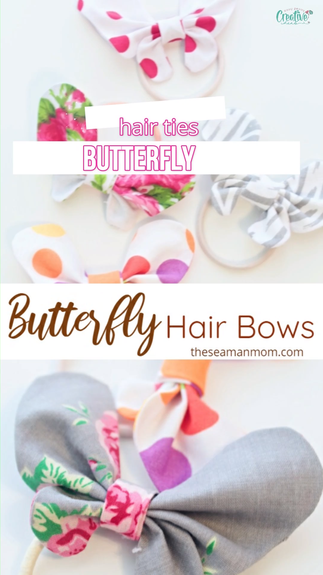 Photo of DIY BUTTERFLY HAIR BOWS