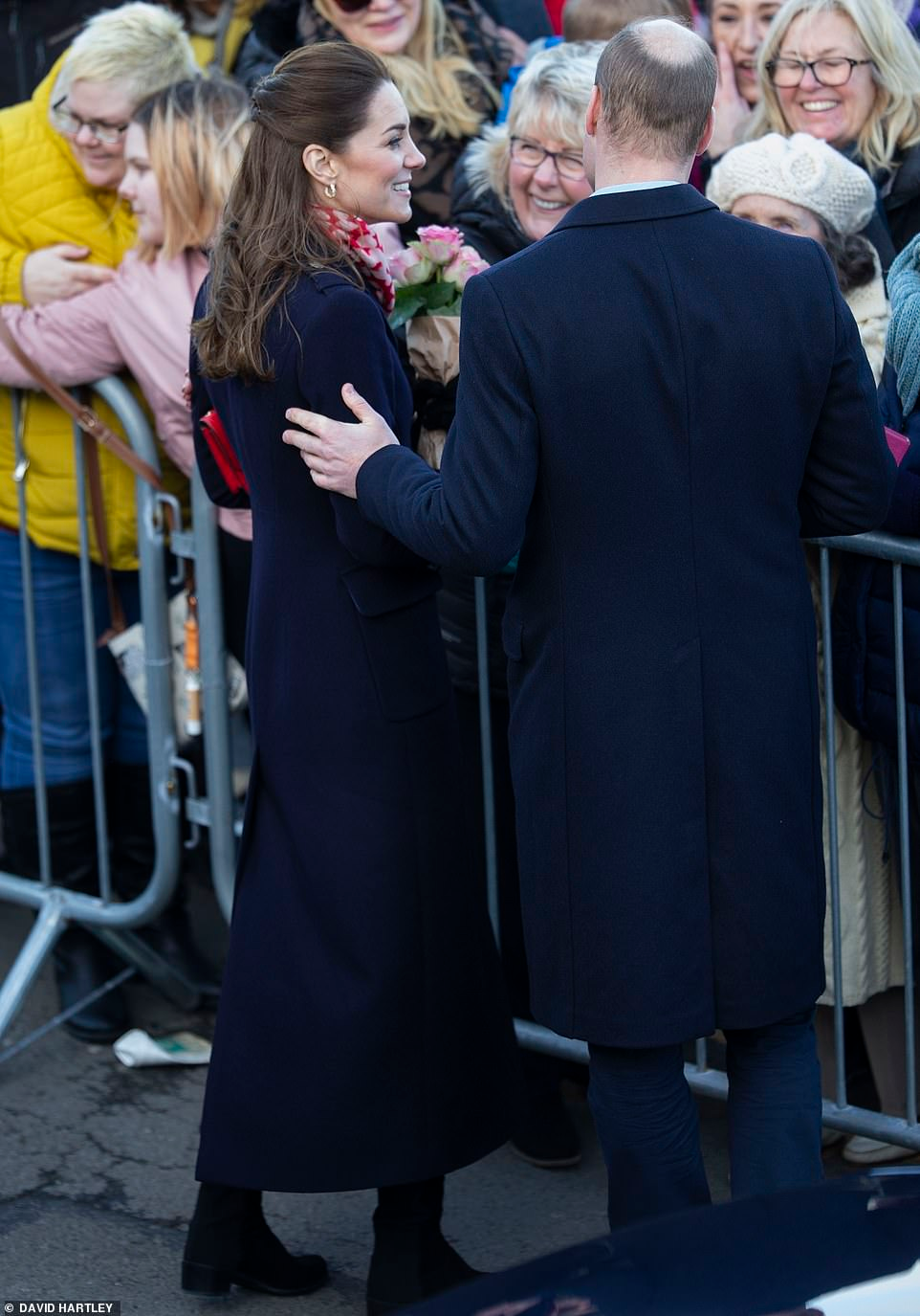 Kate Middleton And Prince William Arrive In South Wales En 2020 Duquesa Catherine Duque Principe