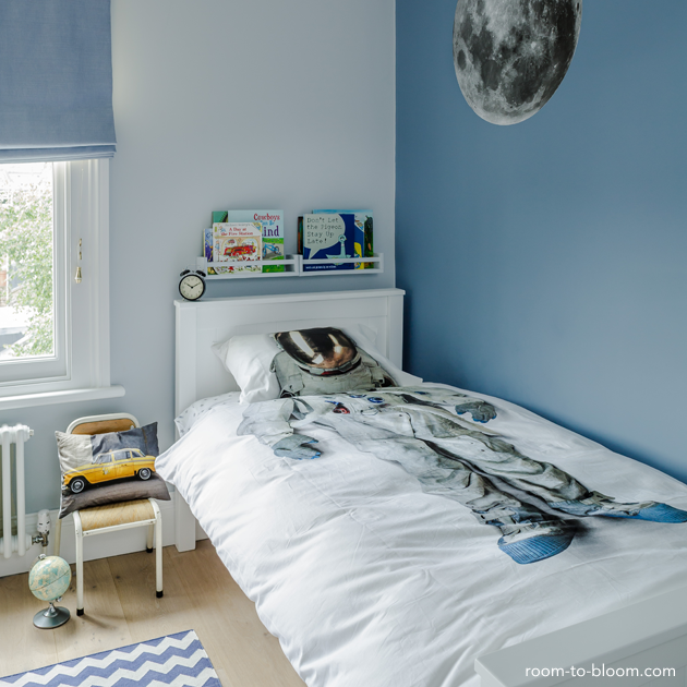 Blue Boys Room nursery & kids room interior design blog | childrens bedroom