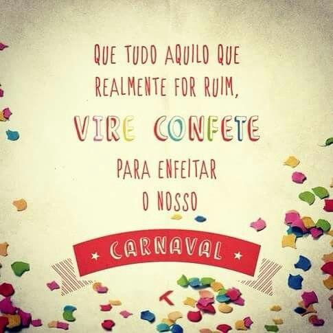 Já é carnaval \o/