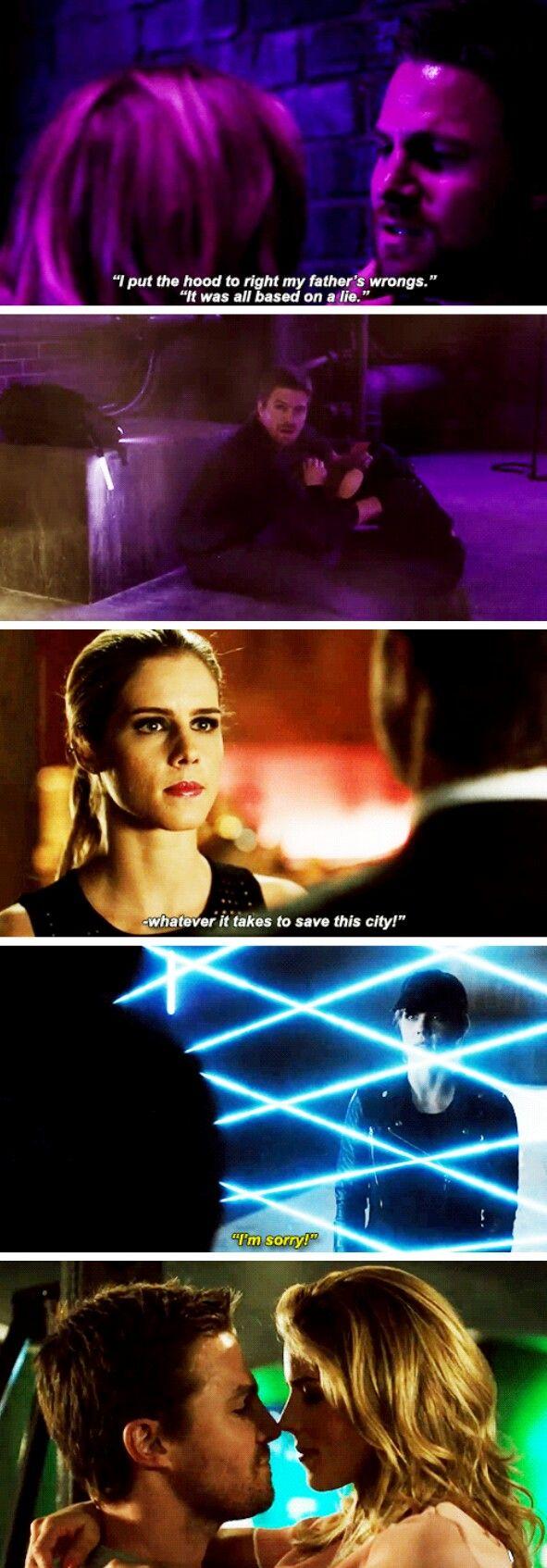 #Olicity in #Arrow #Season5 - Sizzle Reel Trailer