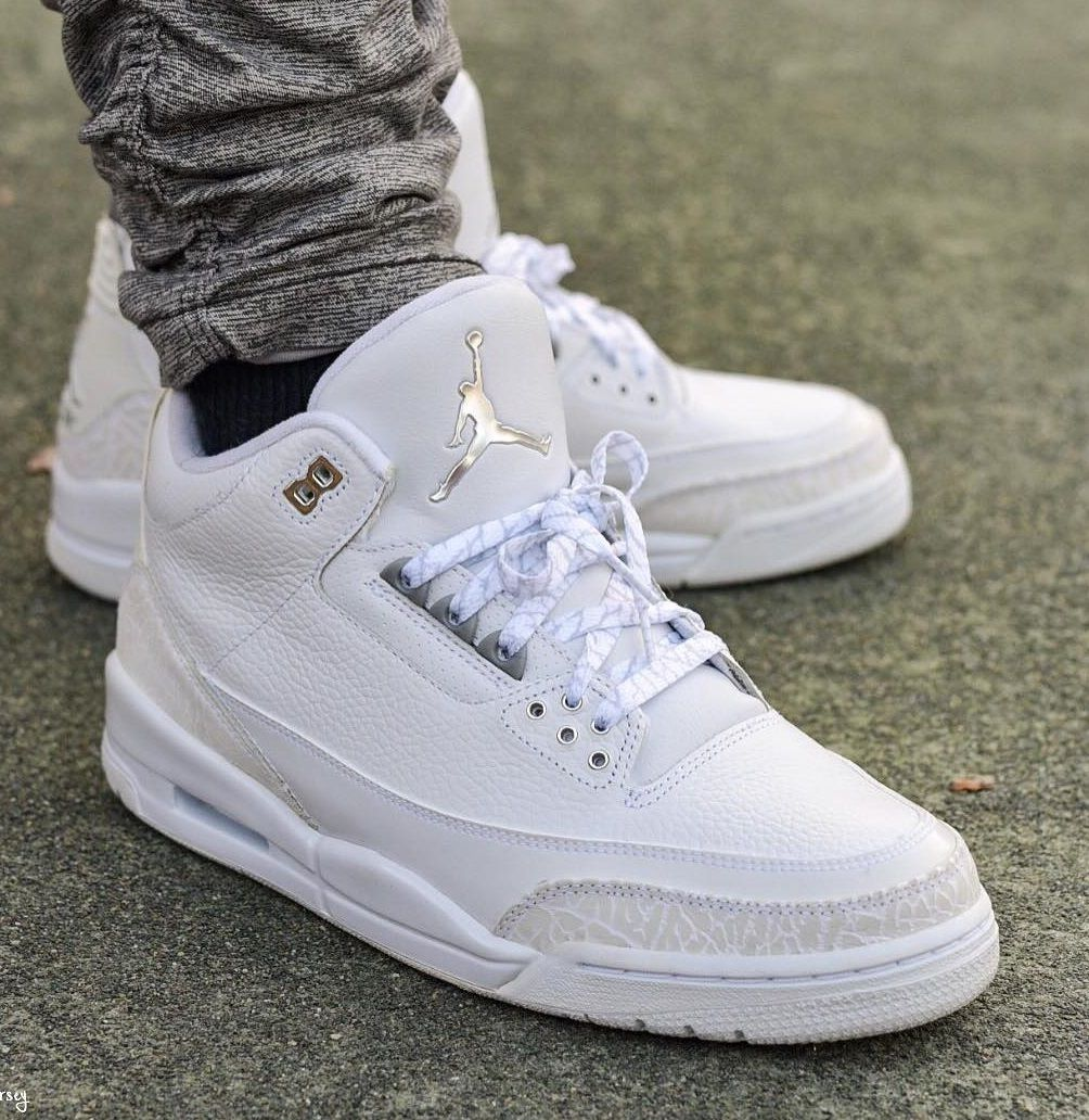 White Air Jordan | Air jordan sneakers, Sneakers fashion ...