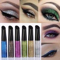 Sparkle Metallic Glitter Eyeliner #glittereyeliner