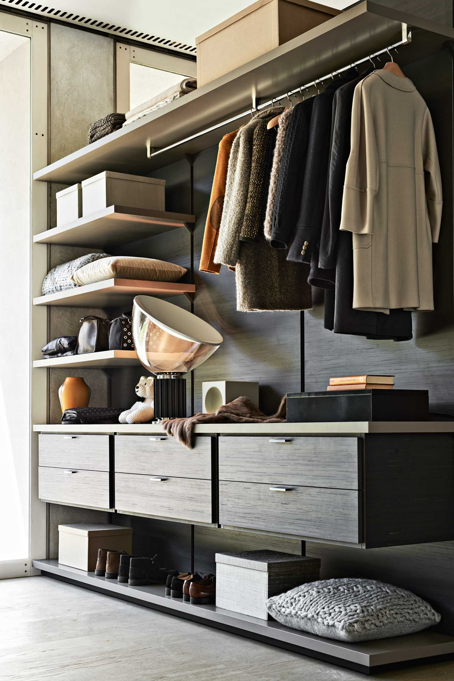Molteni & C Wardrobe Systems Launch at Hub Wardrobe