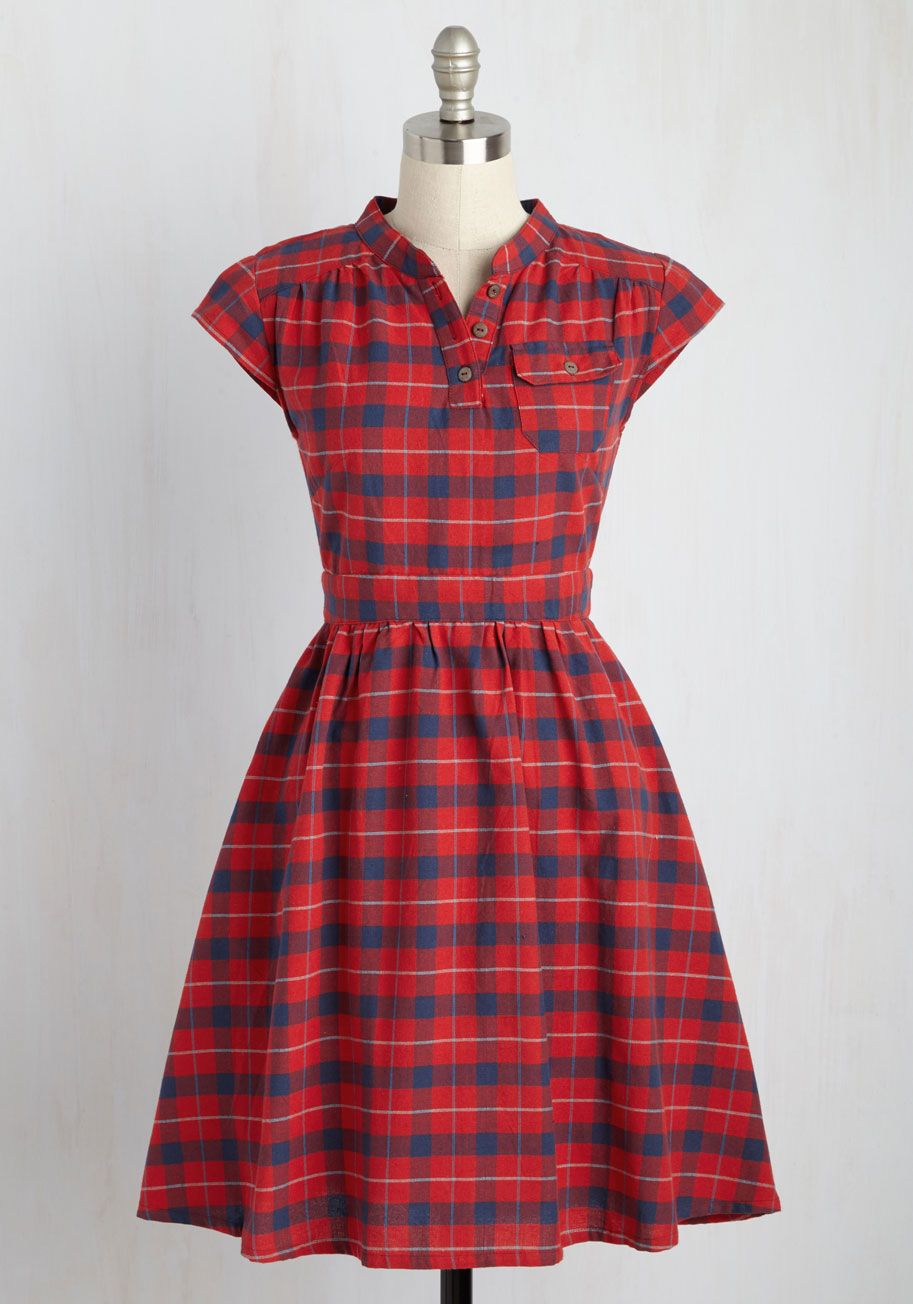 Your Plucky Day Dress, @ModCloth