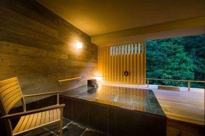 Best hot spring hotel in japan private onsen ryokan - Ryokan tokyo with private bathroom ...