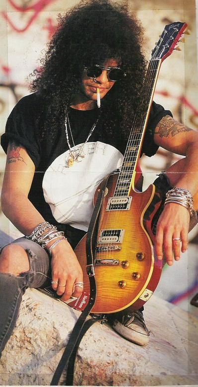 Slash One Of The Best Guitar Players Ever Nirvana Pearl