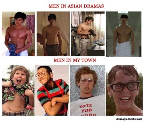 So so so so so so true... and people wonder why I love asian dramas! .. point made!