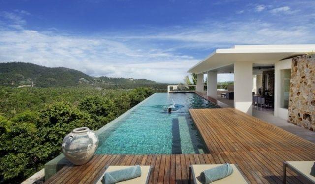 Traumhaus am meer mit pool  pool aus beton - Google-Suche | Ideen rund ums Haus | Pinterest ...