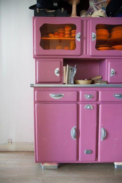 La récup\' dans la cuisine | Kitchen Cupboards | Buffet ...