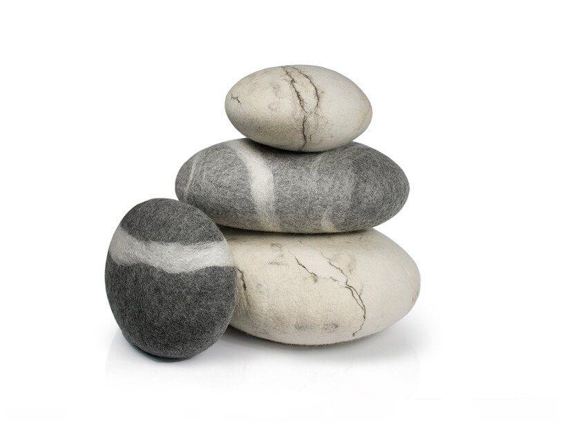 Aliexpress Buy Home Decor Floor River Rock Stone Pillows Living