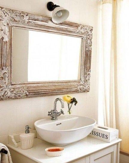 Arredare Casa Con Gli Specchi Specchi Bagno Color Malva E